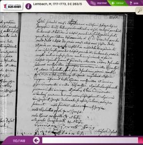 Lembach 1763-05-02 mariage Frédéric MAURER - Marie Elisabeth PFOHL