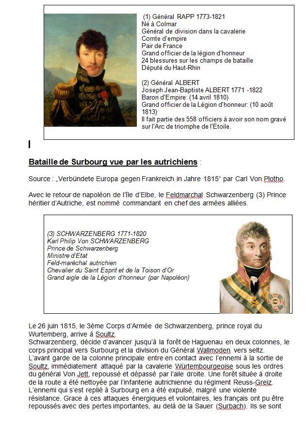 Surbourg - bataille du 26 juin 1815 - Claude SCHMITT-2