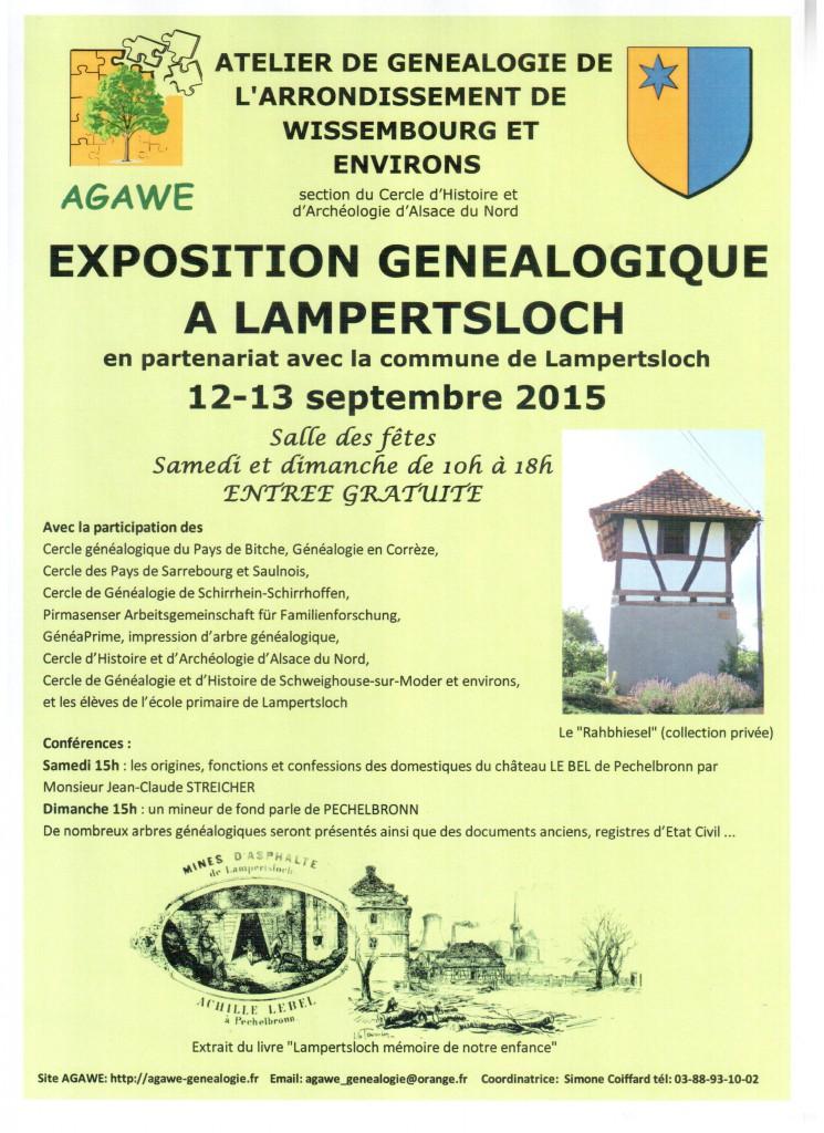 EXPOSITION à LAMPERTSLOCH