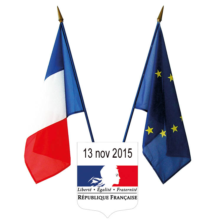 drapeau f eu