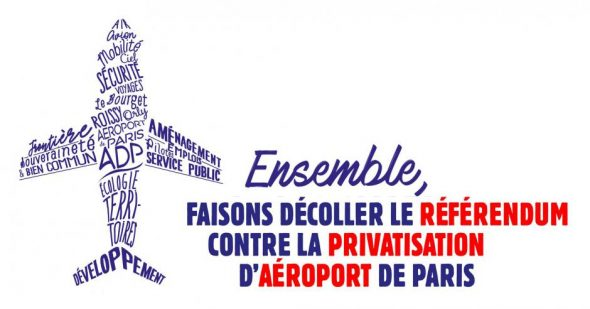 Contre la privatisation d'Aéroport de Paris
