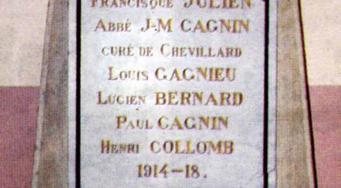 Henri COLOMB, le poilu mystérieux