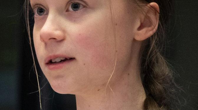 Anniversaire Greta THUNBERG 18 ans